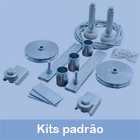 Trata de grupos de produtos formados para facilitar na construção e montagens dos mais diversos tipos e padrões de produtos acabados