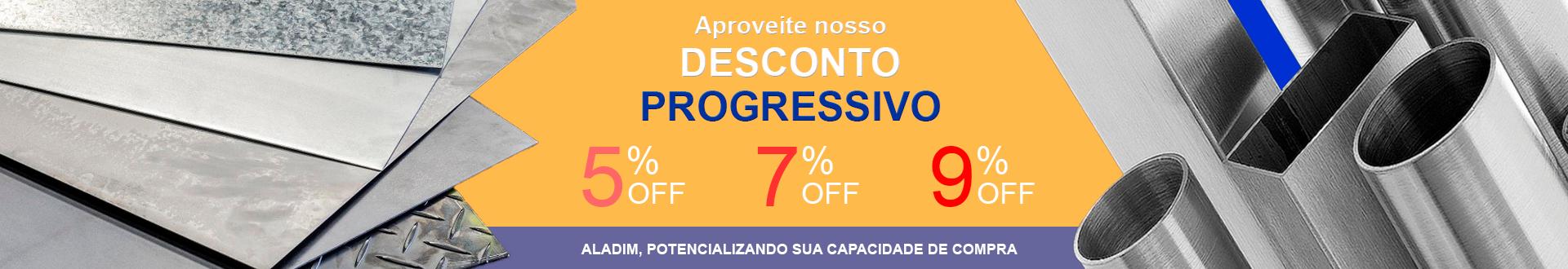 2019 08 21 banner 1920x330 fundo laranja - desconto progressivo - 5-7-9%