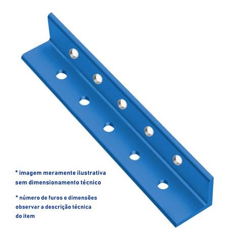 Chapa de base engastada de pilar perfurada para perfil / viga I e W para  200 x 46,1
