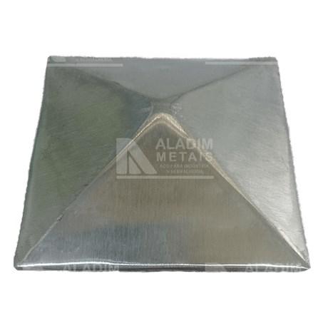 Chapeu Aluminio Para Tubo Metalon 100 X 100
