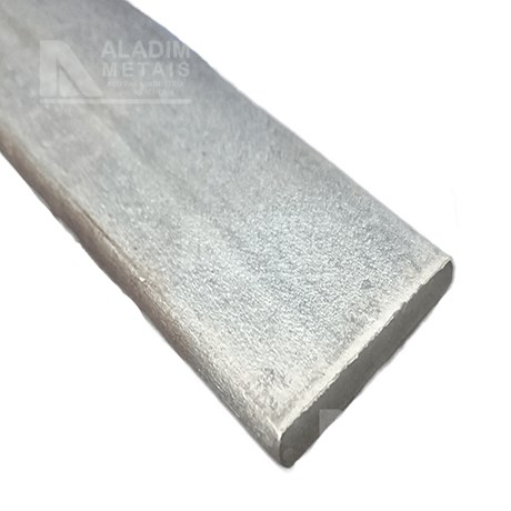 Chato 1.1/4 X 1/8 Astm-a36 Galvanizado (6mts)