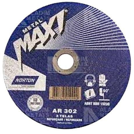 Disco Norton 7x1/8x2tx7/8 Corte Maxi