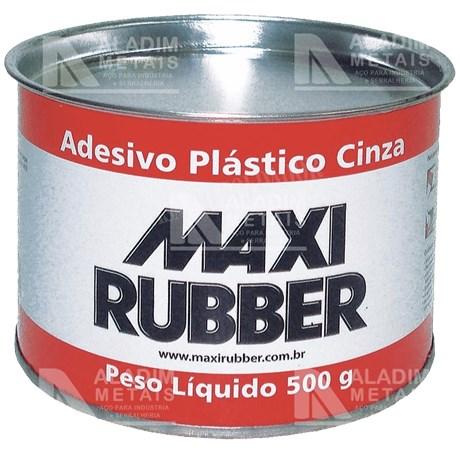 Massa Plastica Maxi Rubber 500 Grs.