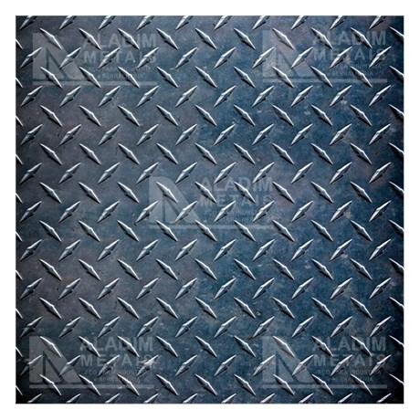 Patamar 800x800x1/8 Xadrez Sem Dobra
