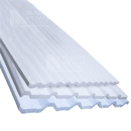 Placa Eps Para Telha Tr25 1000 X 1000 X 30 Padrão Aladim