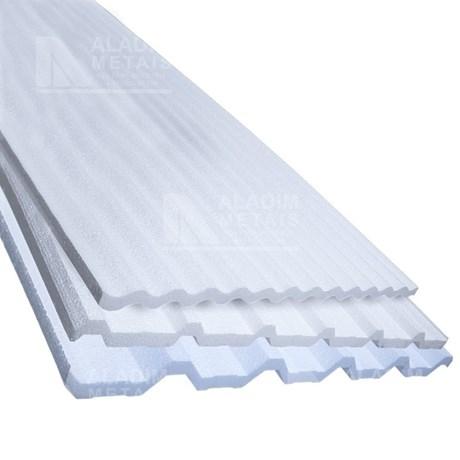 Placa Eps Para Telha Tr40 1000 X 1000 X 30 Padrão Aladim