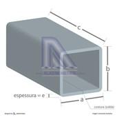 Tubo Quadrado Metalon 120 X 120 3,00 Fina Quente (6mts)
