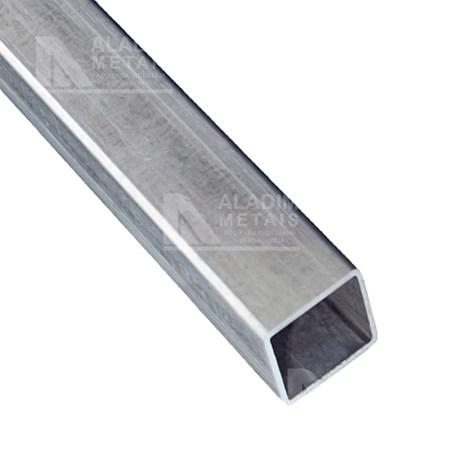 Tubo Quadrado Metalon 60 X 60 1,25 Galvanizado. (6mts)