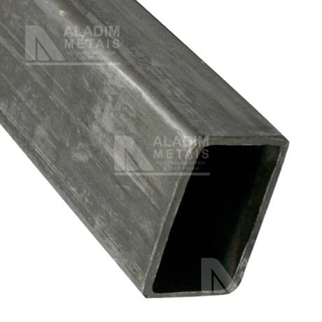 Tubo Retangular Metalon 80 X 40 3,00 Fina Quente (6mts)